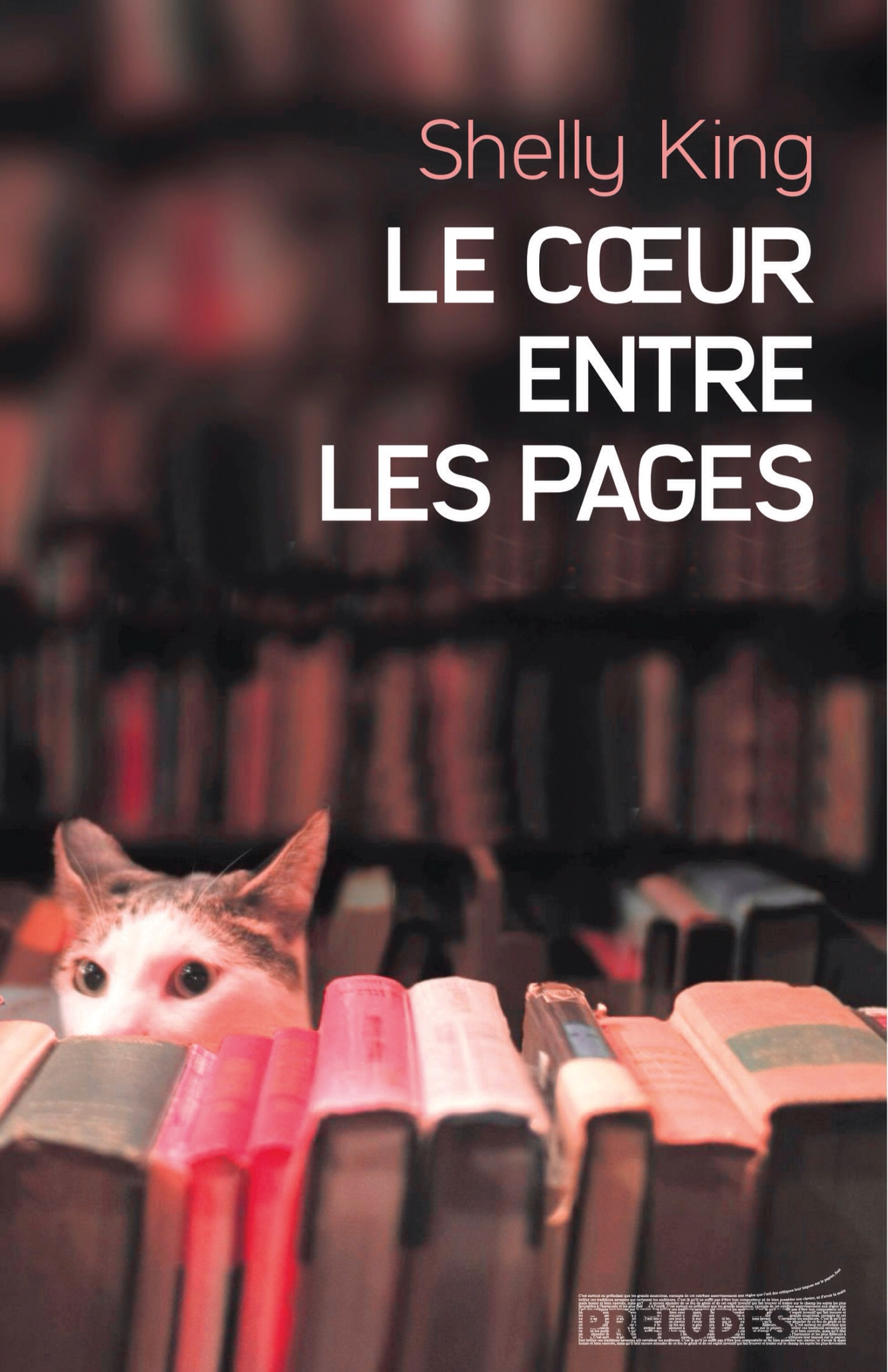 Shelly King : Le cœur entre les pages.
