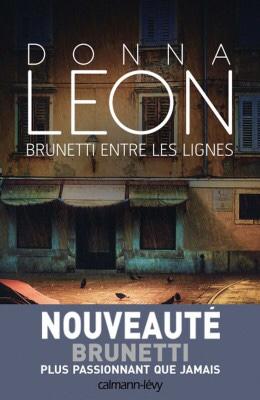 Donna Leon : Brunetti entre les lignes