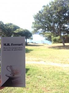 Boire les nuages dans une tasse de porcelaine de M.H Ferrari