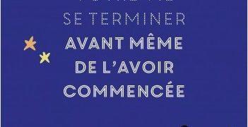 François Bourgognon : Ne laissez pas votre vie se terminer avant même de l'avoir commencée.